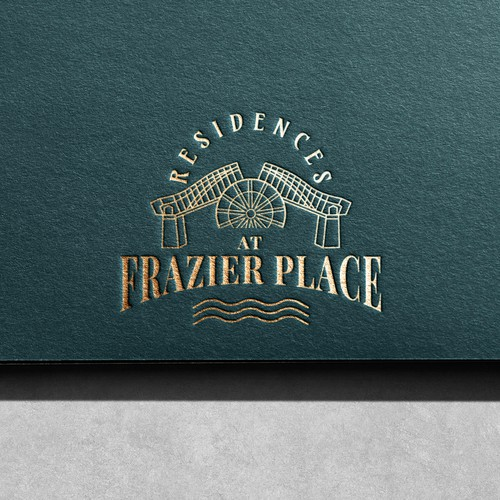 Logo concept for the Residences at Frazier Place