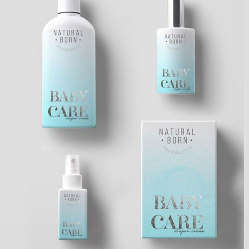 Baby cosmetics package