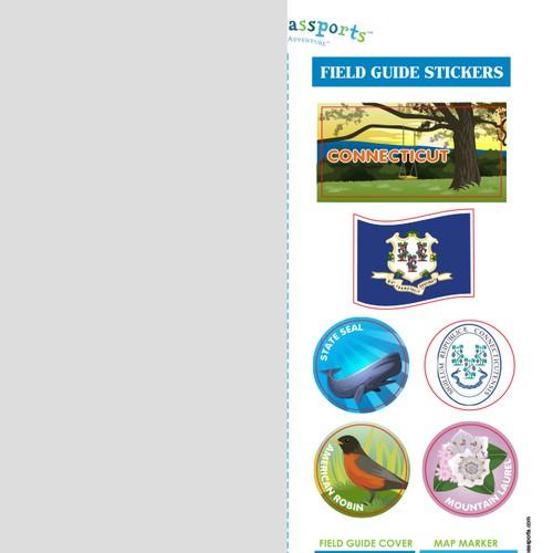 Little Passports Sticker Sheet (For Educational Children's Product)