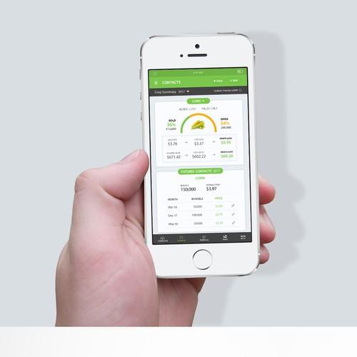 Farm management Mobile App UI