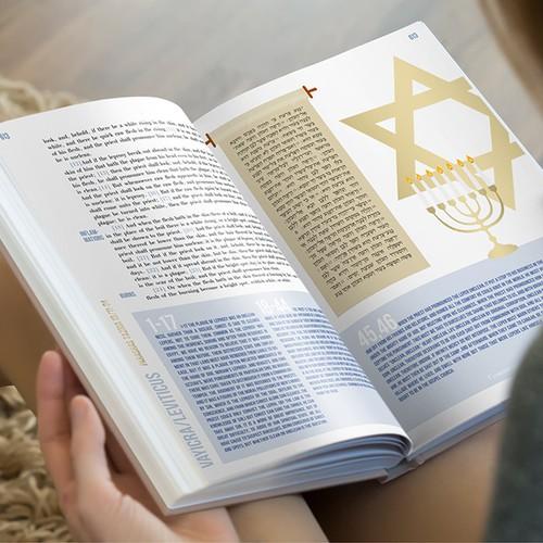 Teen Bible layout design