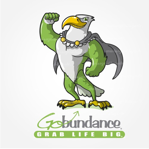 Mascot Design for GoBundance