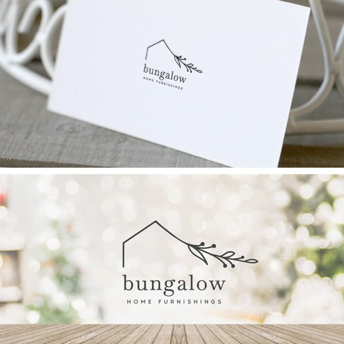 Logo concept for home furnishing