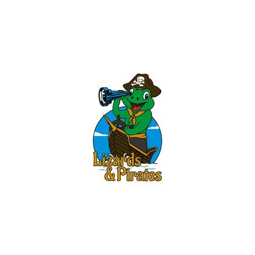 Design Logo Lizards and Pirates