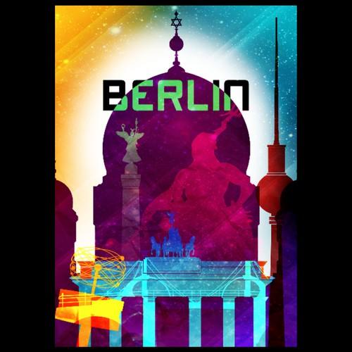 99Design's Berlin Poster