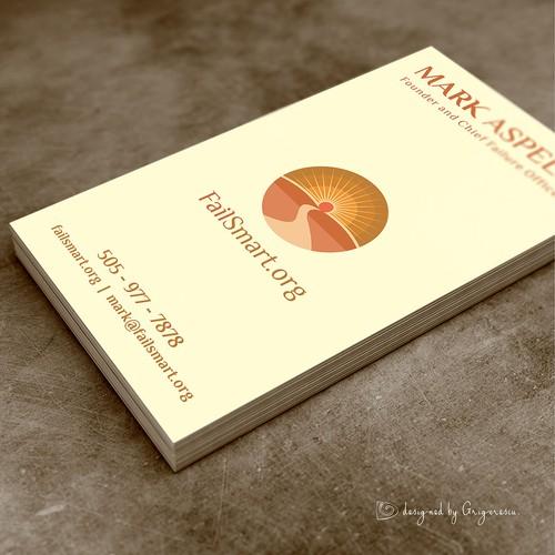 Business Card for Mark Aspelin.