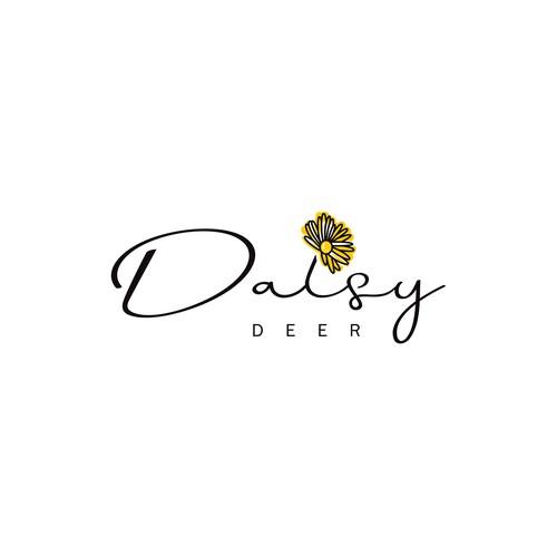 Daisy Deer Logo Design