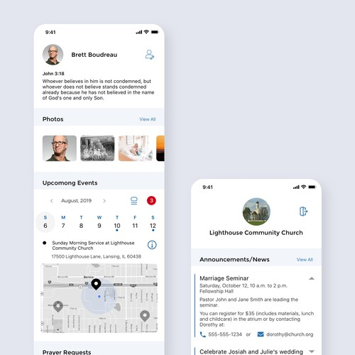 Christian Social Mobile Platform
