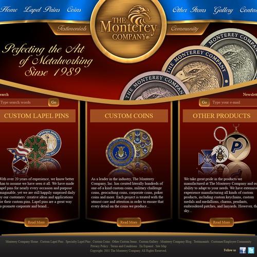 Create the next website design for Web Site Makeover