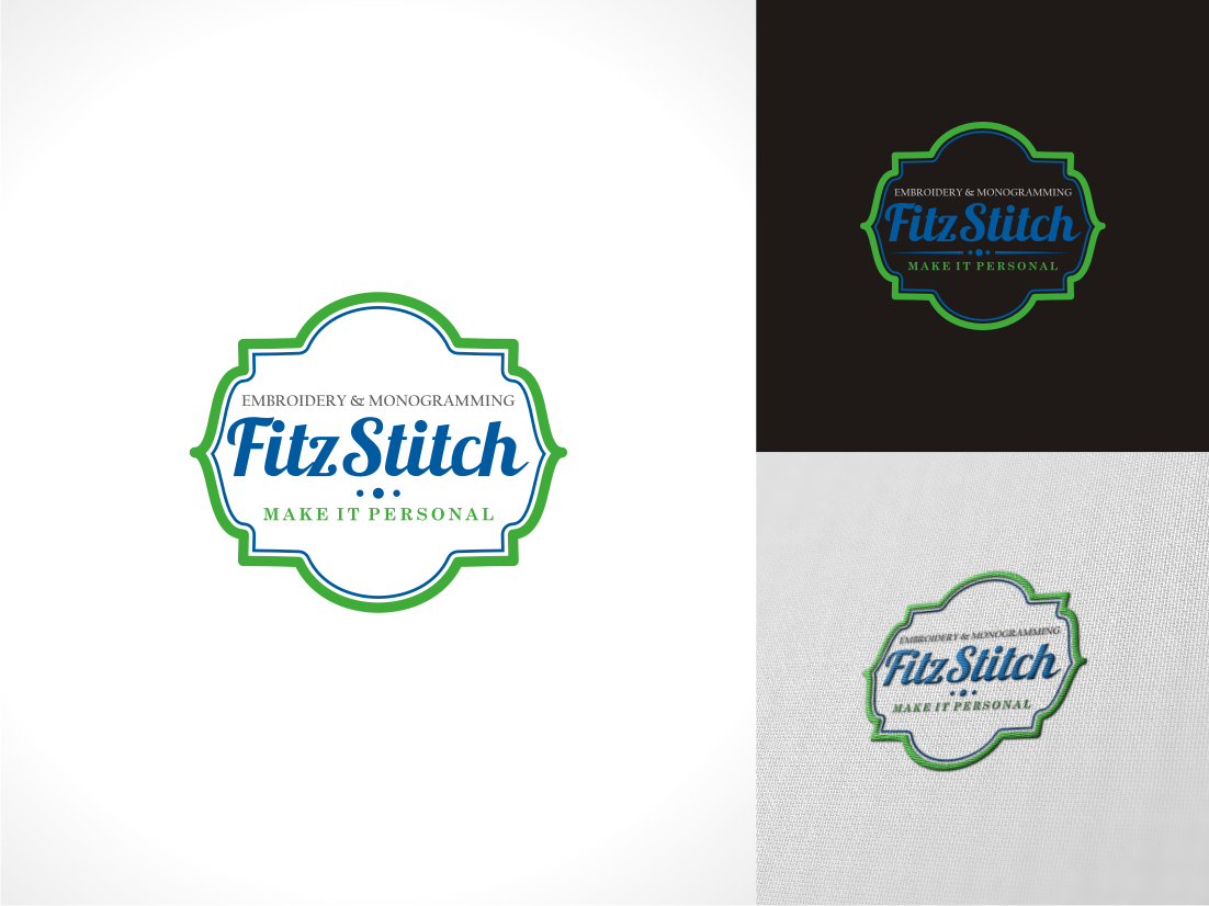 FitzStitch Embroidery & Monogramming needs a new logo