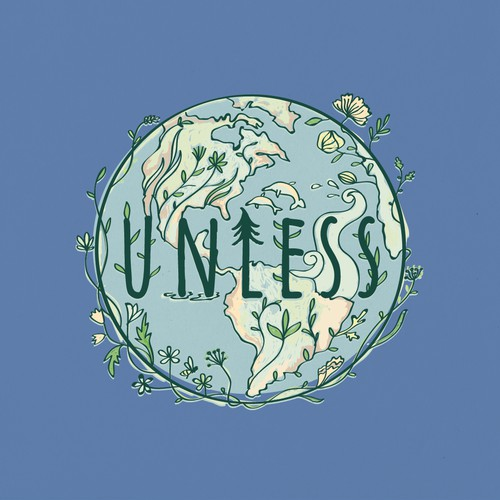 Creative T-Shirt design for Earth Day