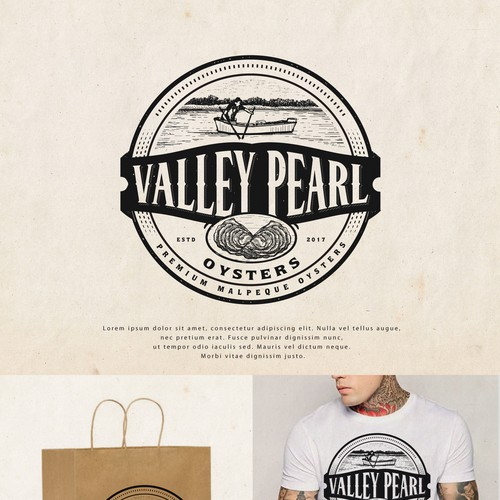 Logo for Valley Pearl Oysters