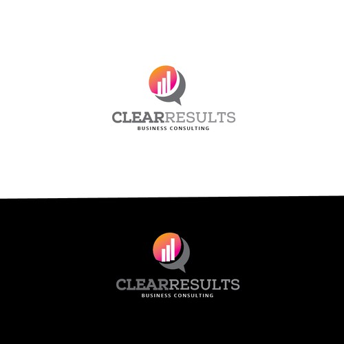 Clean and simple financial logo design