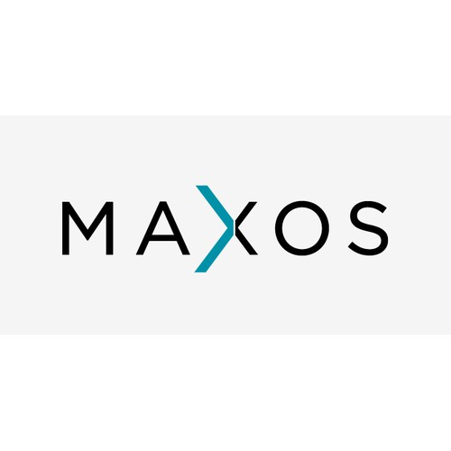 Design logo for large-scale software development consulting brand MAXOS