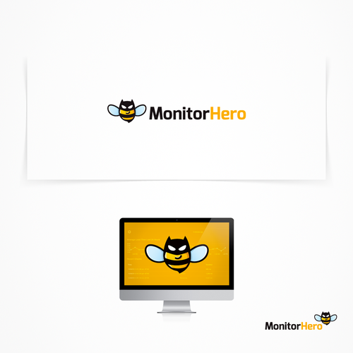 Logo concept for Monitor Hero