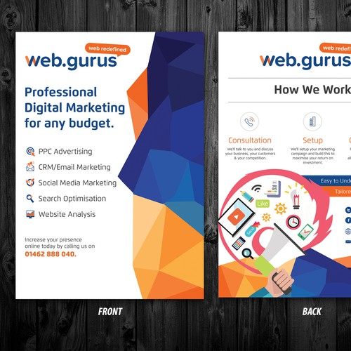 Web Gurus flyer