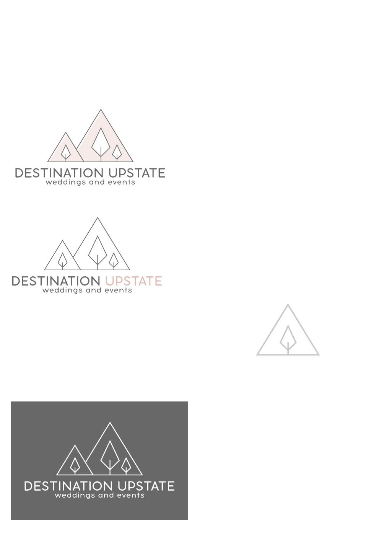 Create a hip cool logo for an Upstate NY destination wedding planning biz