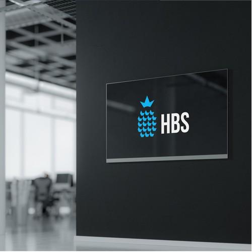 Bold logo for hotel construction company