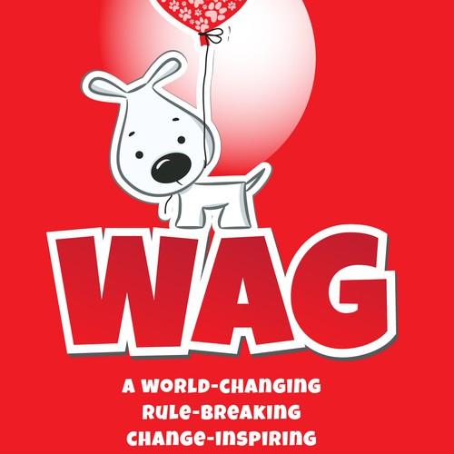 "Create AWESOME kid-friendly FUN poster /dvd cover for ""Wag"" movie. Help animals!"