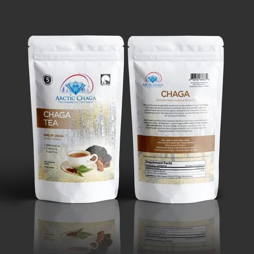 Chaga Tea Packaging