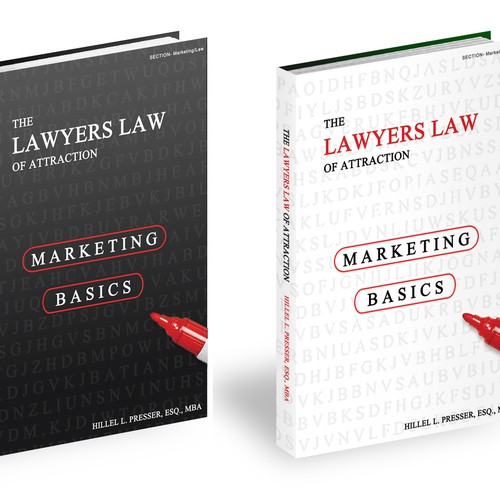 New book or magazine cover wanted for Lawyer Marketing, LLC