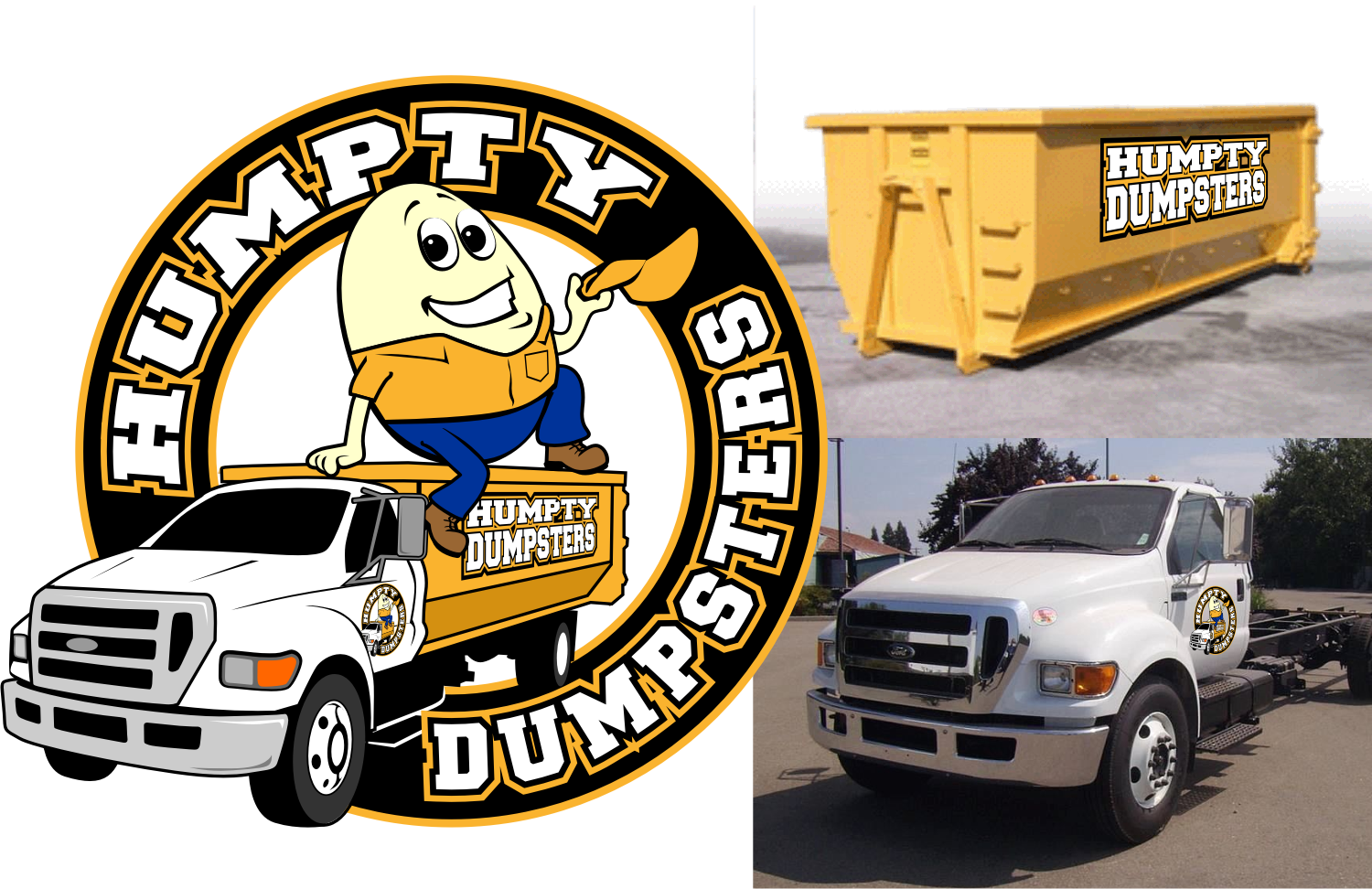 Create the next logo for Humpty Dumpsters