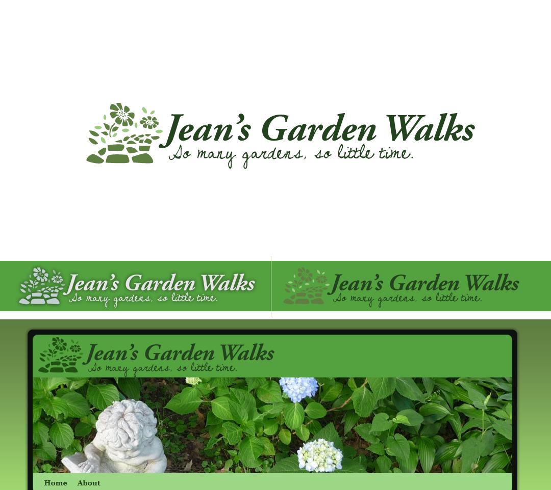 Jean's Garden Walks needs a new logo