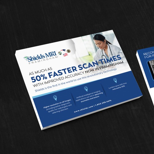 Shields MRI Flyer design