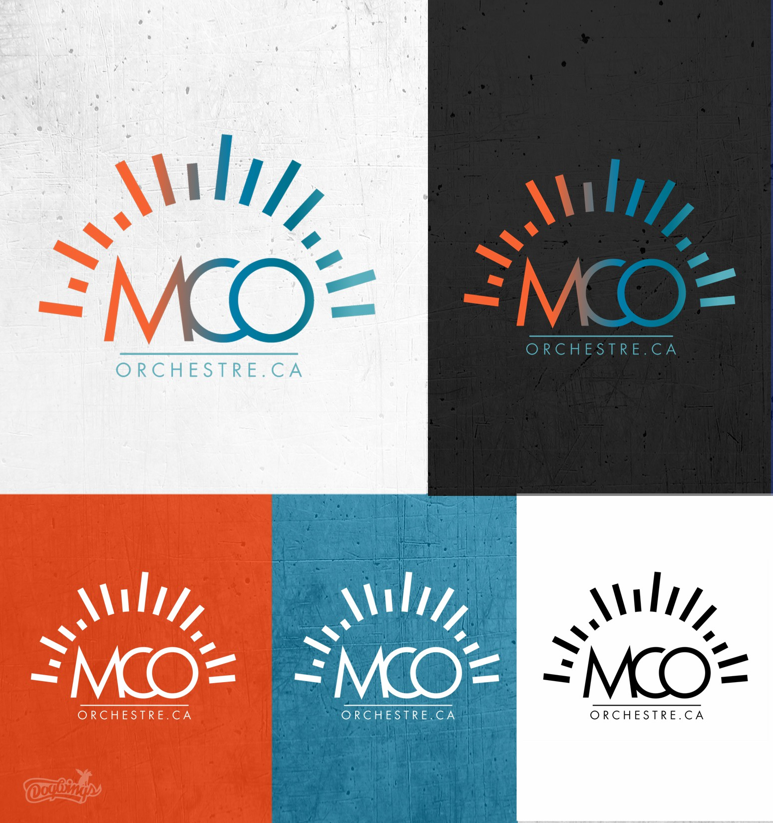 Create a new Logo and image for our Orchestra