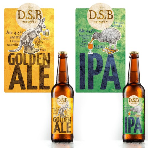 Funny labels for beer