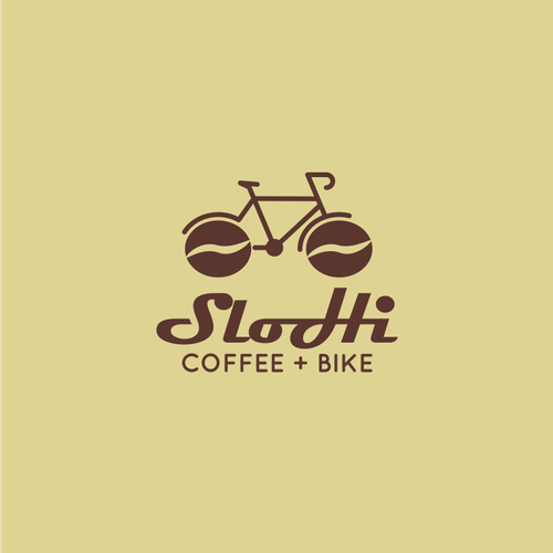 Logo for SloHi Coffee + Bike