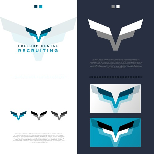 Minimalist Logo Design for Dental Recruiting Company