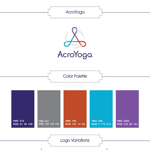 AcroYoga Brandstyle