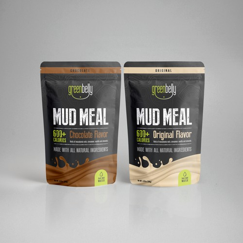 Hiking/Protein Meal Packaging Design