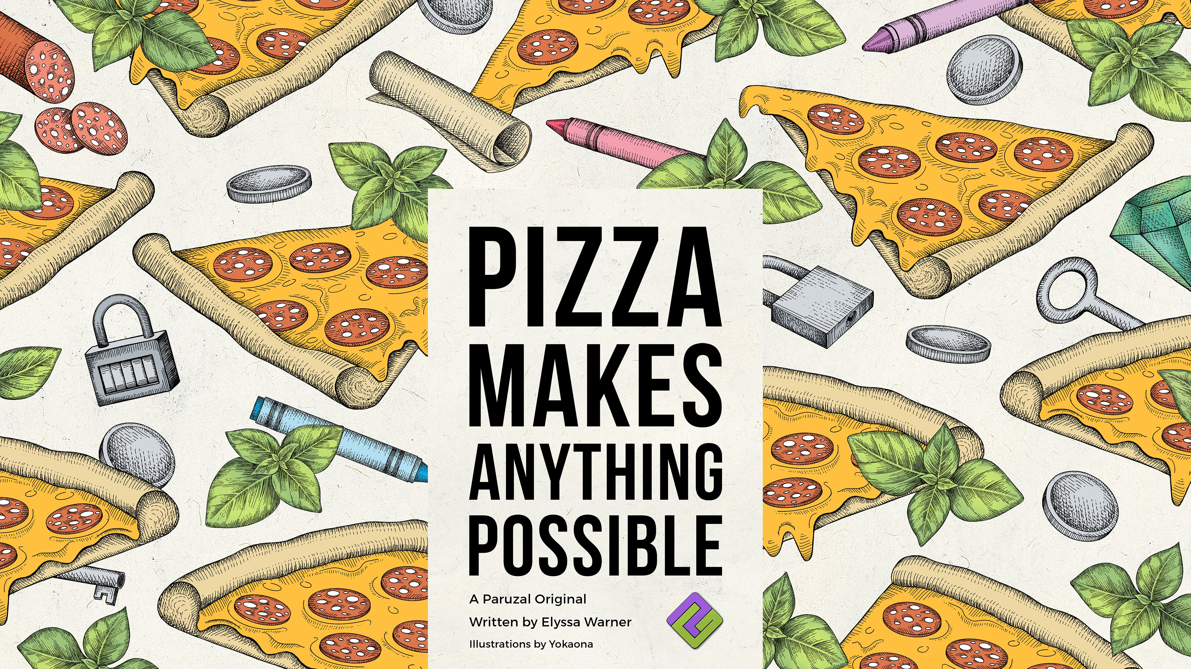 Title Illustration for Pizza Makes Anything Possible