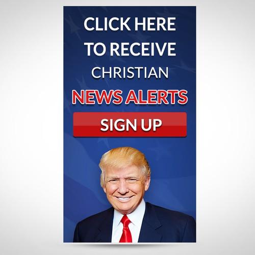 Conservative News Sign-Up Banner