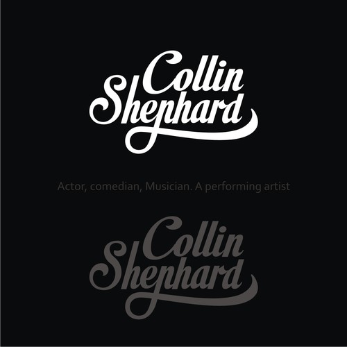 LOGO for Actor, comedian, Musician. A performing artist