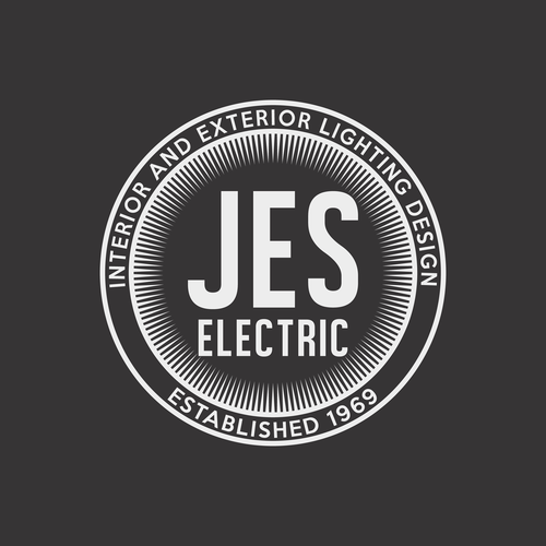 Minimalistic and classic logo for architectural electric company