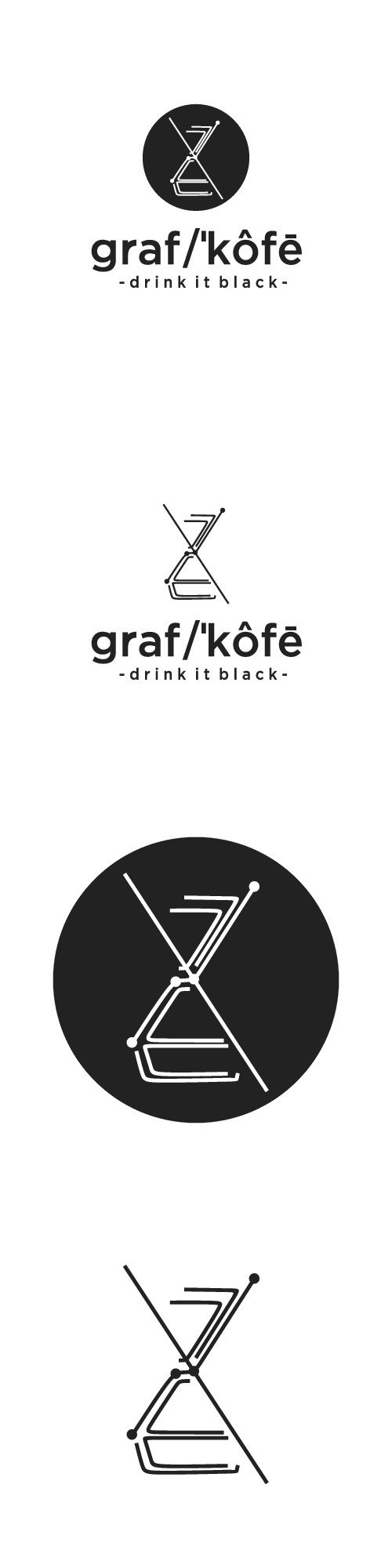 Design a hipster logo that targets millenials/working professionals who love black coffee and bohemian chill vibes