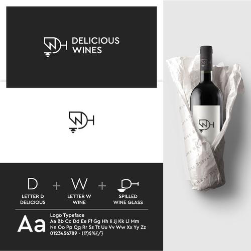 Delicious Wines Logo