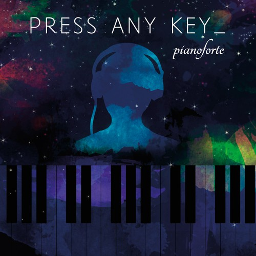 pianoforte debut album cover design