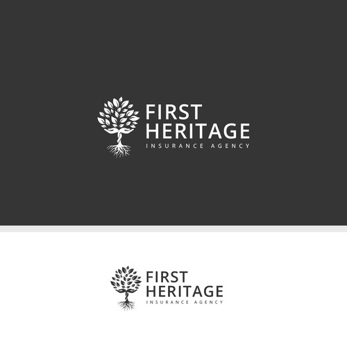 Create a classic/sophisticated logo for an insurance agency in New York