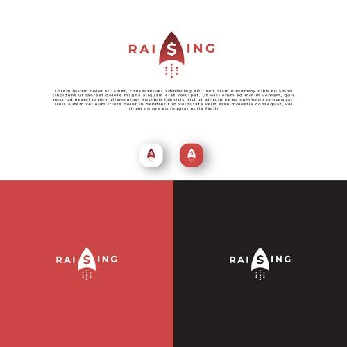 S Money Rocket Logo For Raising