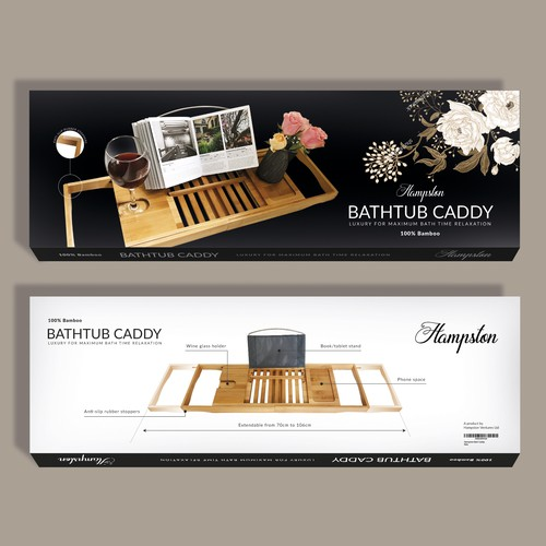 Packaging for a bath caddy