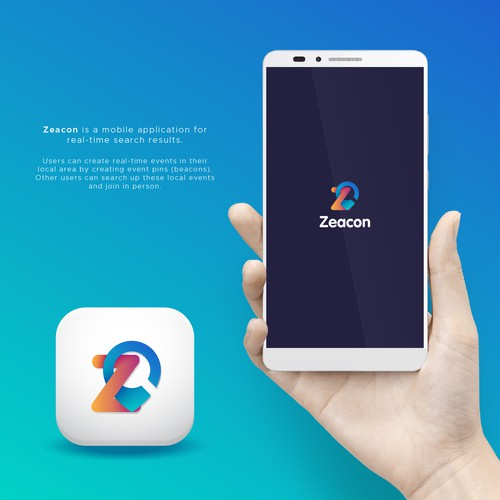 Logo for Zeacon app
