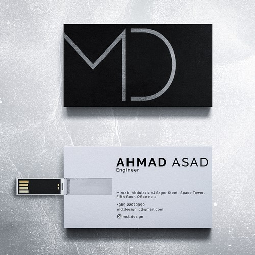 Business Card Design For MD Design
