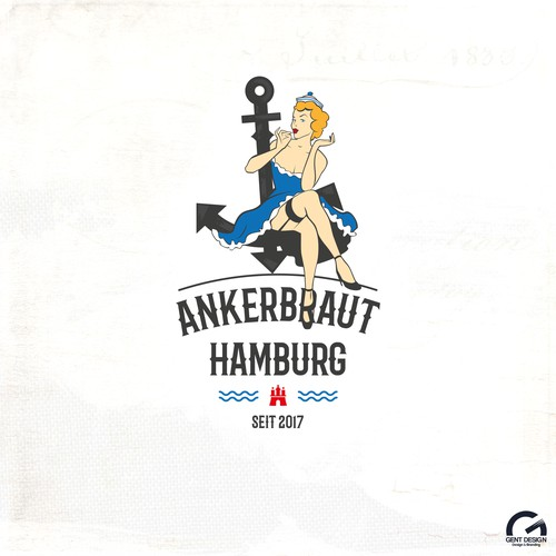 Ankerbraut Hamburg fashion logo