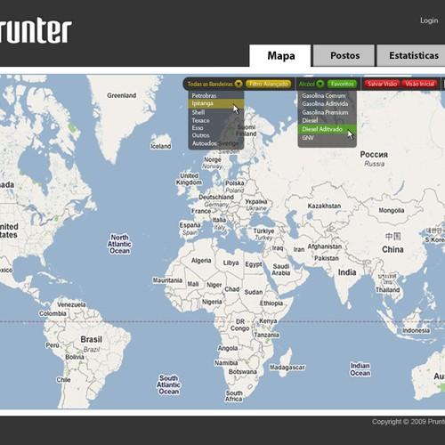 Map Based Website Overhaul