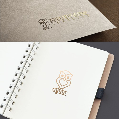 Creative and clever logo design for Your Education Advocate