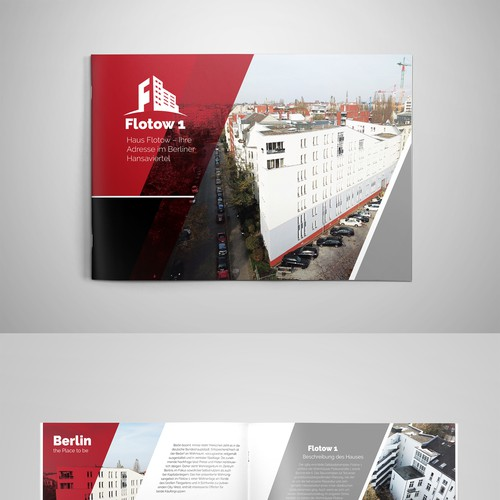 Flotown 1 Brochure Design